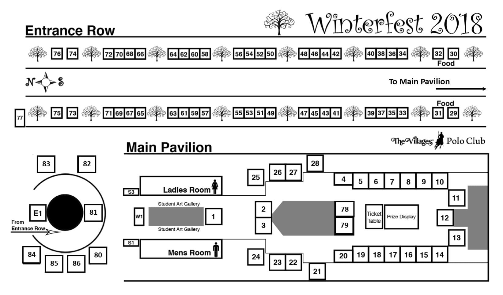 Winterfest 2017 Map